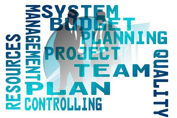 Project related words - plan, team, quality etc