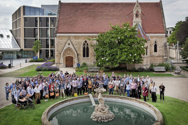 ICTF19 conference group photo