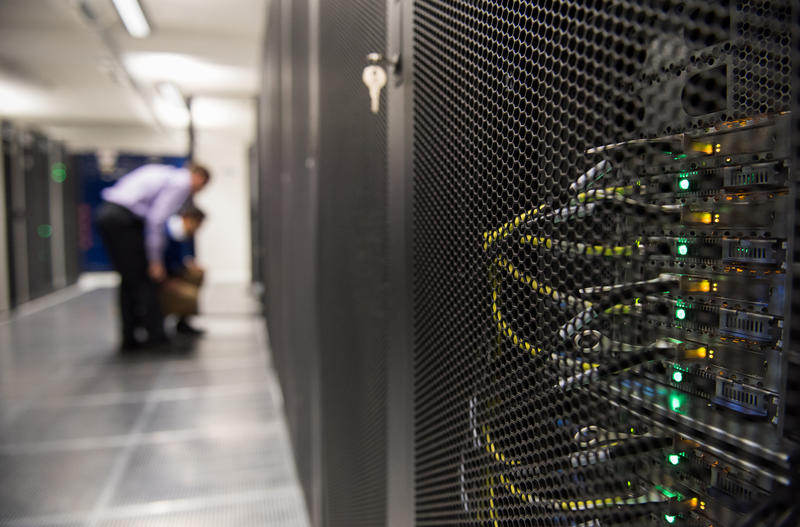Servers in a datacentre