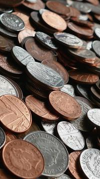 silver and copper round coins