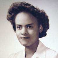 Photo of a young Evelyn Granville